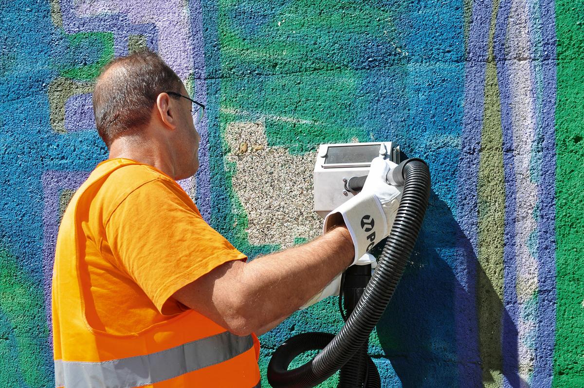 Teaser Wissenswertes Graffitientfernung