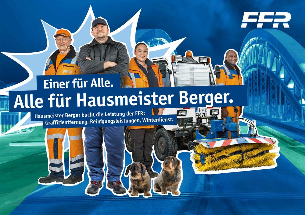 Kampagne FFR Reinigung