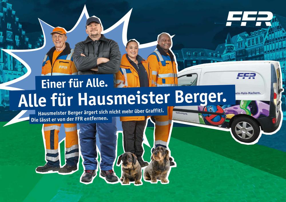 Kampagne FFR Graffitientfernung