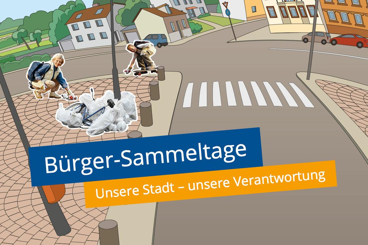 Bürger-Sammeltage: Unsere Stadt – unsere Verantwortung