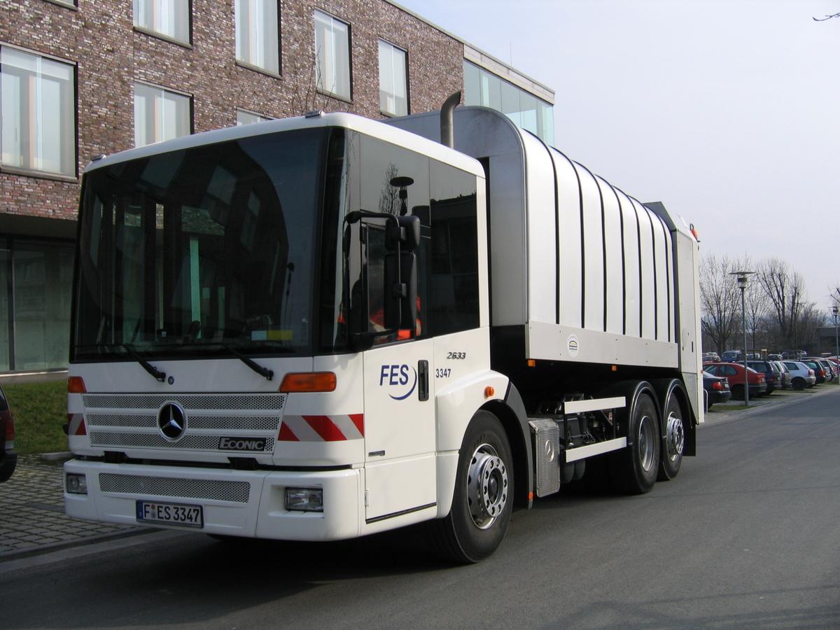 Müllwagen Rotopress