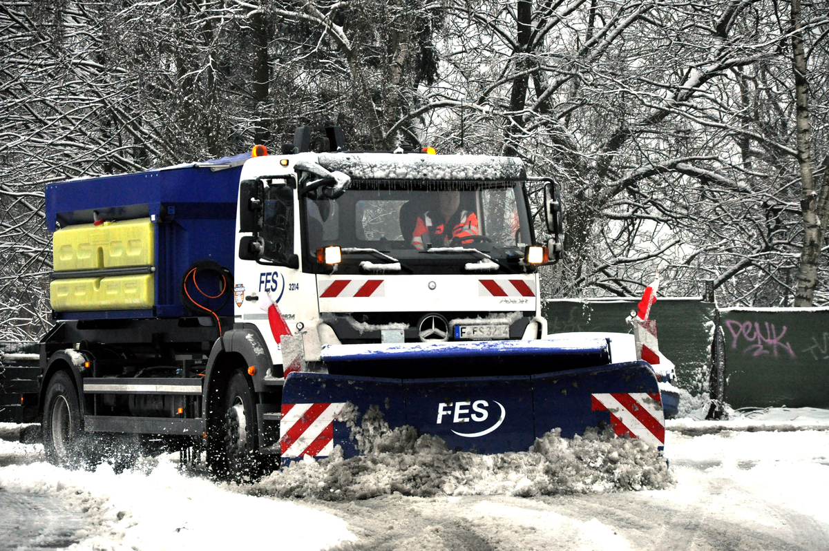 Winterdienst Grossstreuer