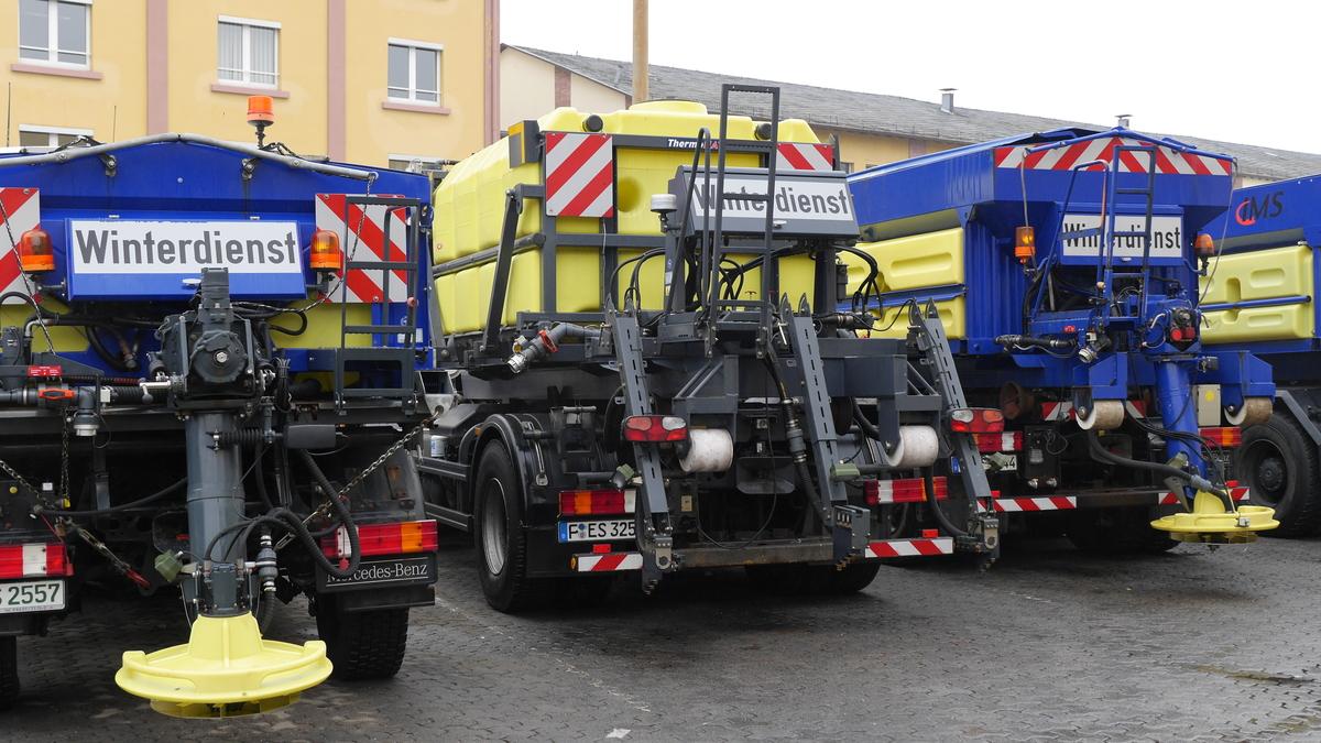 Winterdienst Fahrzeuge