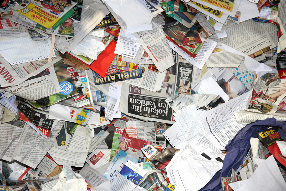 Teaser Wissenswertes Abfall ABC Papier